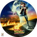 Back to the Future (1985) R1 Custom Label