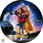 Back to the Future II (1985) R1 Custom Label