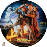Back to the Future III (1990) R1 Custom Label