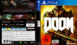 DOOM Uncut (2016) PS4 German Cover