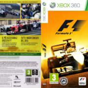 F1 2014 (2014) XBOX 360 Italian Cover