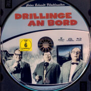 Drillinge an Bord (1959) R2 German Blu-Ray Label