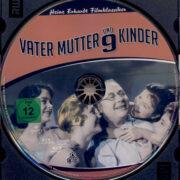 Vater, Mutter und neun Kinder (1958) R2 German Blu-Ray Label