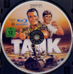 Der Tank (1984) R2 German Blu-Ray Label