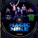 Magic Mike (2012) R2 German Blu-Ray Label