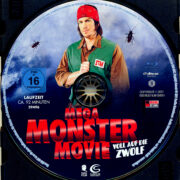 Mega Monster Movie (2009) R2 German Blu-Ray Label