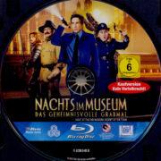 Nachts im Museum – Das geheimnisvolle Grabmal (2014) R2 German Blu-Ray Label