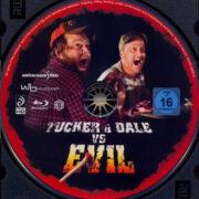 Tucker & Dale vs Evil (2010) R2 German Blu-Ray Label