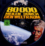 80.000 Meilen durch den Weltraum (1974) R2 German Blu-Ray Label