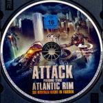 Attack from the Atlantic Rim (2013) R2 German Blu-Ray Label