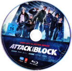 Attack the Block (2011) R2 German Blu-Ray Label