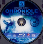 Chronicle – Wozu bist du fähig? (2012) R2 German Blu-Ray Label