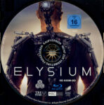 Elysium (2013) R2 German Blu-Ray Label