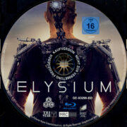 Elysium (2013) R2 German Blu-Ray Label