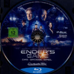 Ender's Game – Das große Spiel (2013) R2 German Blu-Ray Label