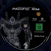 Pacific Rim (2013) R2 German Blu-Ray Labels