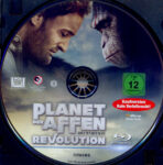 Planet der Affen: Revolution (2014) R2 German Blu-Ray Label