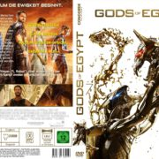 Gods of Egypt (2016) R2 GERMAN Custom Cover