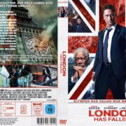 London has fallen (2016) R2 GERMAN Custom Cover