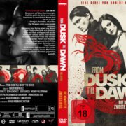 From Dusk till Dawn: Staffel 2 (2015) R2 German Custom Cover & labels