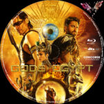 Gods of Egypt (2016) R2 German Custom Blu-Ray Label