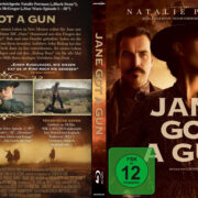 Jane Got a Gun (2016) R2 German Custom Blu-Ray Cover & label