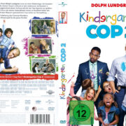 Kindergarten Cop 2 (2016) R2 German Custom Cover & label