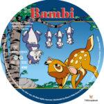 Bambi (1942) R1 Custom Labels