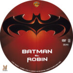 Batman and Robin (1997) R1 Custom Label