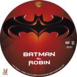 Batman and Robin (1997) R1 Custom Label