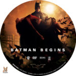 Batman Begins (2005) R1 Custom Label