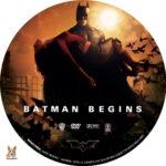 Batman Begins (2005) R1 Custom Label