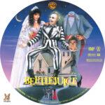 Beetlejuice (1988) R1 Custom Label