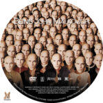 Being John Malkovich (2000) R1 Custom Label