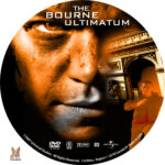 The Bourne Ultimatum (2007) R1 Custom Label