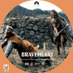 Braveheart (1995) R1 Custom Labels