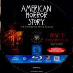 American Horror Story: Season 1 (2011) R2 German Blu-Ray Labels