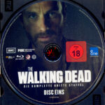 The Walking Dead: Season 3 (2013) R2 German Blu-Ray Labels