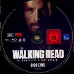 The Walking Dead: Season 4 (2014) R2 German Blu-Ray Labels