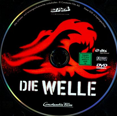 Die Welle (2008) R2 German Label