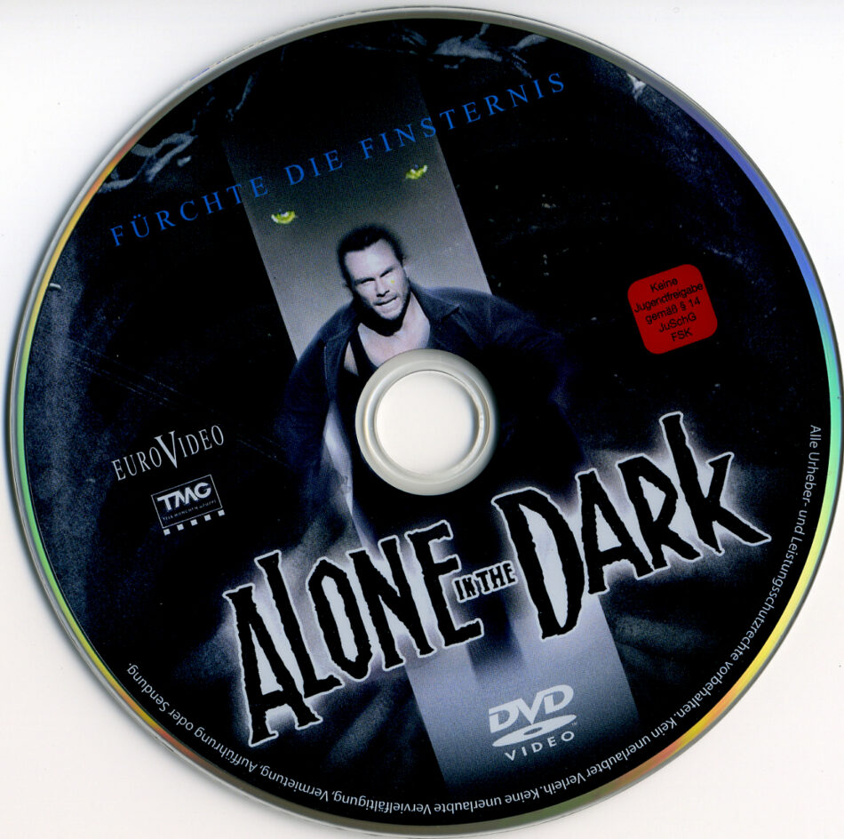 Alone In The Dark Dvd Label 2005 R2 German