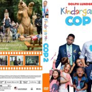 Kindergarten Cop 2 (2016) R1 CUSTOM Cover & label