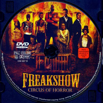 Freakshow: Circus of Horror (2007) R2 German Label