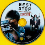 Rest Stop: Don't Look Back (2008) R1 DVD Label