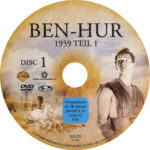 Ben Hur (1959) R2 German Labels