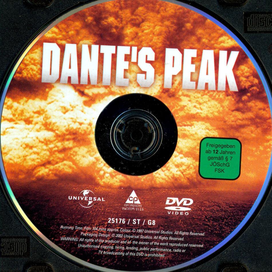 Dante S Peak Dvd Label 1997 R2 German