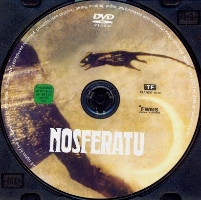 Nosferatu, eine Symphonie des Grauens (1922) R2 German Label
