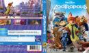 Zootopia (2016) R2 Blu-Ray Swedish Cover