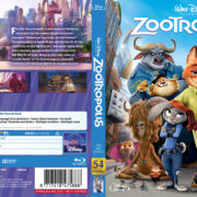 Zootopia (2016) R2 Blu-Ray Swedish Cover