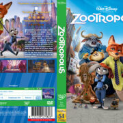 Zootopia (2016) R2 DVD Swedish Cover